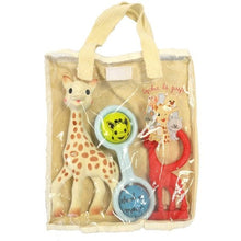 Load image into Gallery viewer, Sophie the Giraffe Made in France Gift Bag