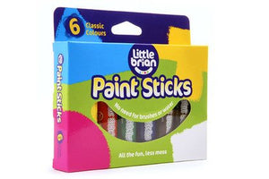 Little Brian Paint Sticks - Classic 6pk