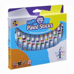 Little Brian Paint Sticks - Mini Paint Sticks 24 Pack