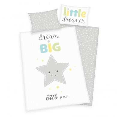 Dream Big Little One Cot duvet cover