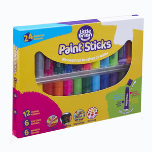 Little Brian Paint Sticks 24 Pack