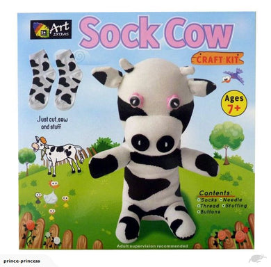 Craft Kit Sock Cow
