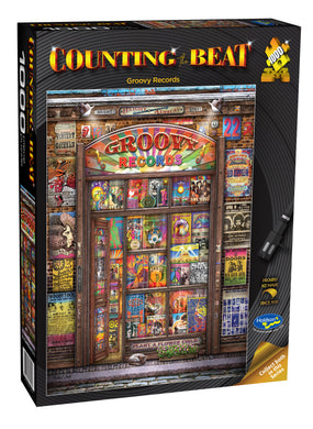 Counting The Beat - Groovy Records 1000 PIECE