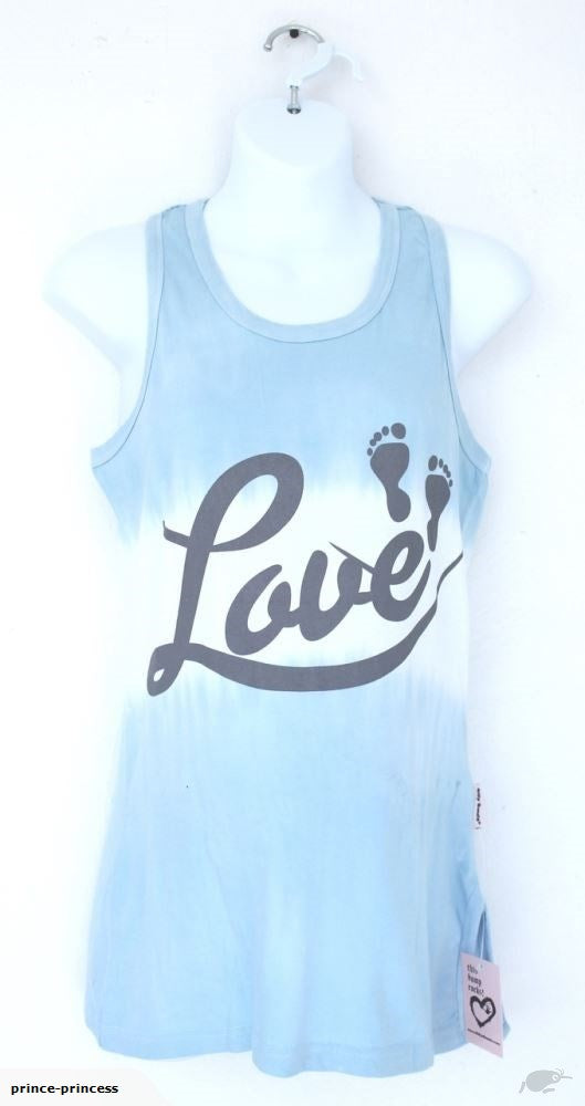 Love with baby feet maternity tank