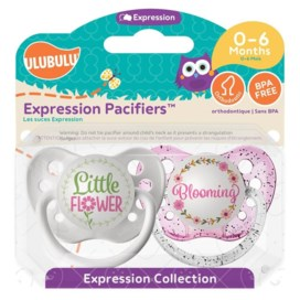 LITTLE FLOWER & BLOOMING 0-6mths Pacifier