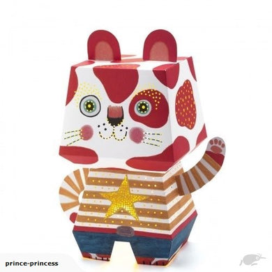 Djeco Mini Night Light Art Cat