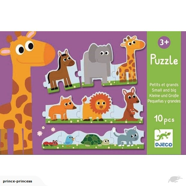 Djeco Big & Small Puzzle