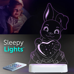 Aloka USB/Battery LED Night Light - Bunny rabbit