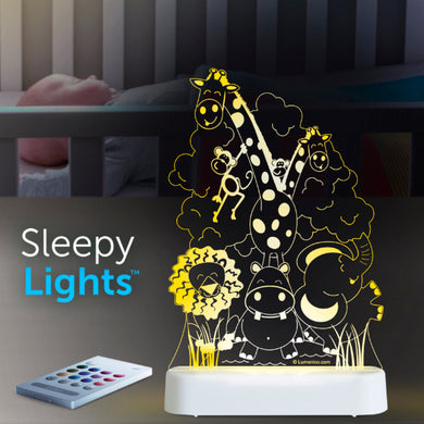 Aloka USB/Battery LED Night Light - Jungle