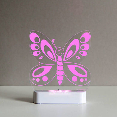 Aloka USB/Battery LED Night Light- Butterfly