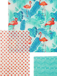 FLAMINGO ISLAND - SET OF 3