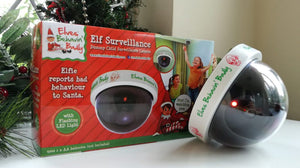 Elves behavin' badly - Surveillance Camera