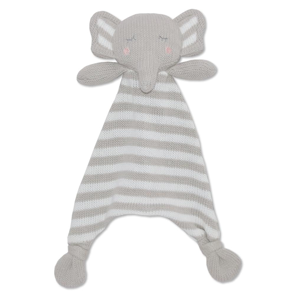 ELI THE ELEPHANT SECURITY BLANKET