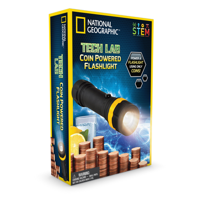 National Geographic Coin Flashlight
