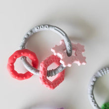 Load image into Gallery viewer, Silicone Teething Charms: Pink