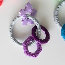 Load image into Gallery viewer, Silicone Teething Charms: Purple