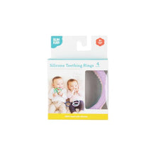 Load image into Gallery viewer, Silicone Teething Rings 4 Pack: Spring