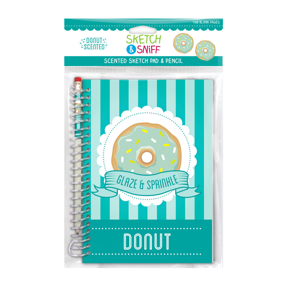 Sketch & Sniff Notebook Donut