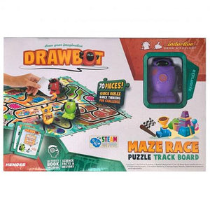 Drawbot  Maze Race Puzzle Track Board