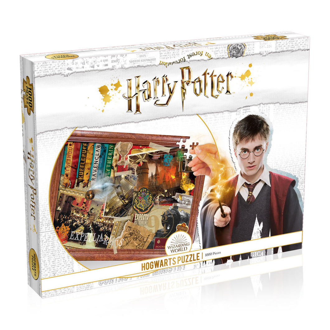 Harry Potter Hogwarts puzzle 1000pc