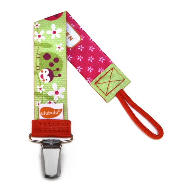 Lady B Personalized Pacifier Clip