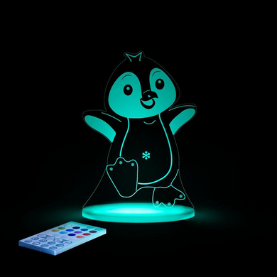 Aloka USB/Battery LED Night Light - Penguin