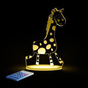 Aloka USB/Battery LED Night Light -Giraffe