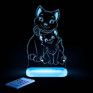Aloka USB/Battery LED Night Light - Cat