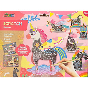 Scratch Jointed Puppet Kit Unicorn