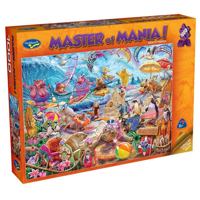 MASTER OF MANIA! 1000PC (BEACH MANIA)