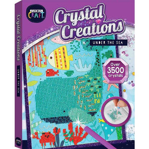 Curious Craft Crystal Creations Canvas Under the Sea