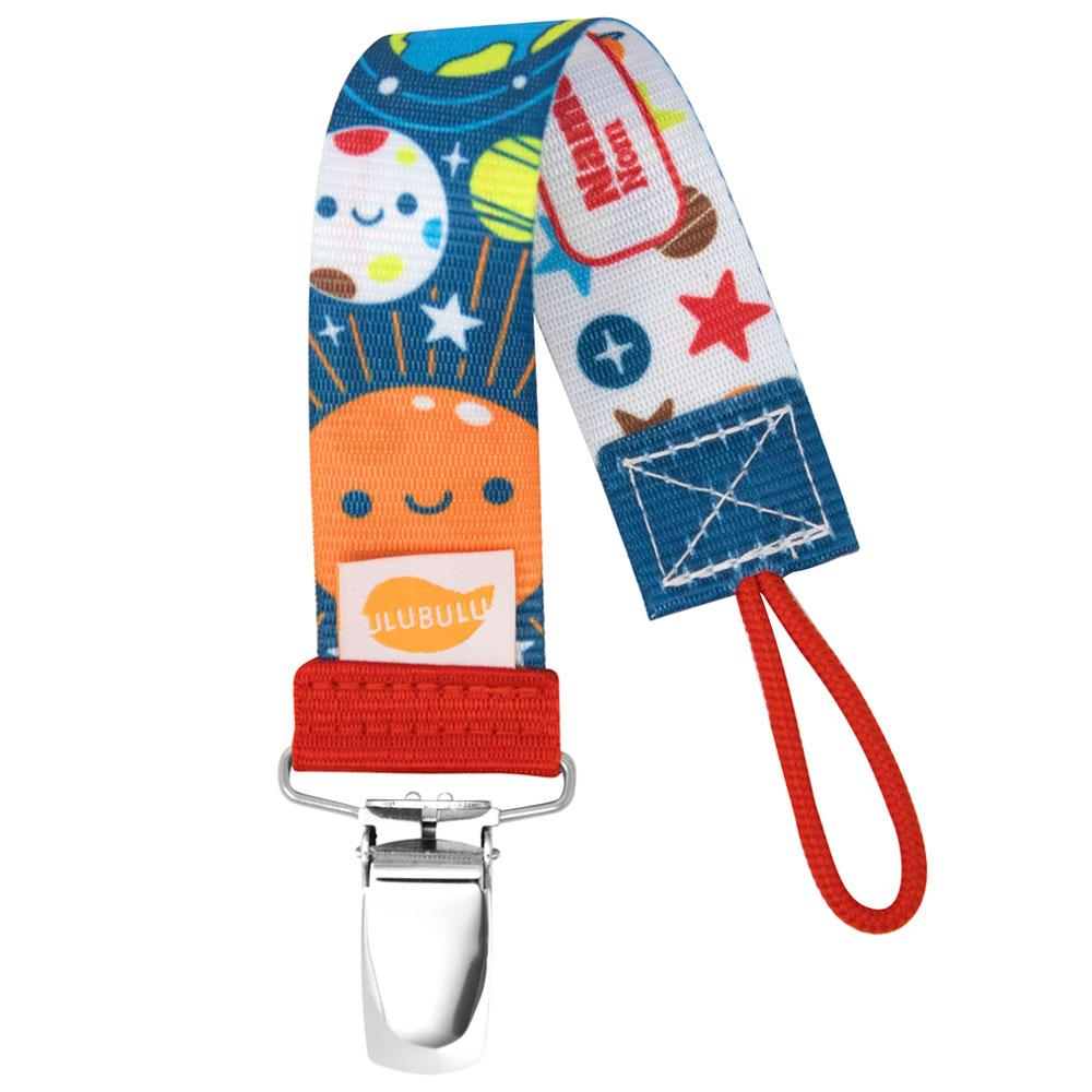 SOLAR SYSTEM PACIFIER CLIP