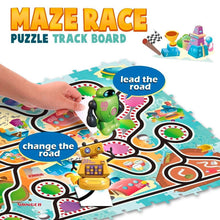 Load image into Gallery viewer, Drawbot  Maze Race Puzzle Track Board