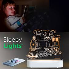Aloka USB/Battery LED Night Light - Train