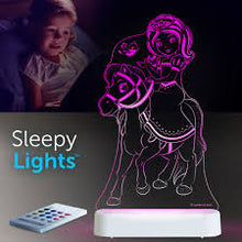 Load image into Gallery viewer, Aloka USB/Battery LED Night Light Princess and Pony