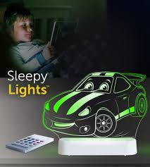 Aloka USB/Battery LED Night Light  - Race Car