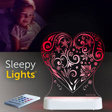 Aloka USB/Battery LED Night Light- Heart