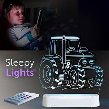 Aloka USB/Battery LED Night Light  - Tractor