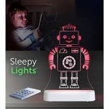 Aloka USB/Battery LED Night Light - Robot