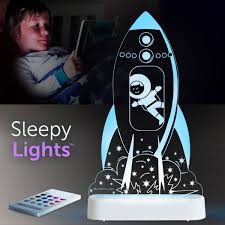 Aloka USB/Battery LED Night Light - Rocket