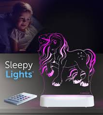 Aloka USB/Battery LED Night Light - Unicorn