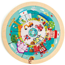 Load image into Gallery viewer, Hape Jobs Roundabout Puzzle