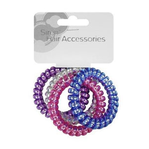 Hairbands Telephone Metallics 4pcs