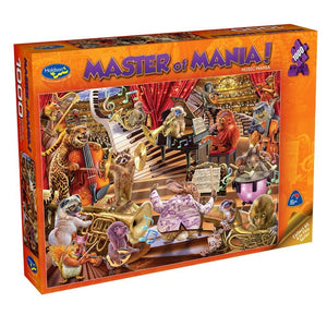 MASTER OF MANIA! 1000PC (MUSIC MANIA)
