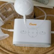 Load image into Gallery viewer, Crane Rechargeable Double Electric Breast Pump