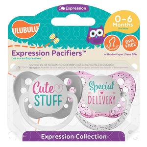 CUTE STUFF & SPECIAL DELIVERY 0-6mths Pacifier