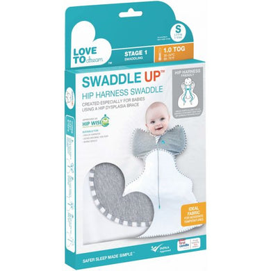 SWADDLE UP™ HIP HARNESS 1.0 TOG GREY - Small