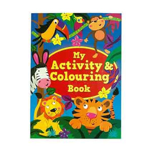 My Activity & Colouring Book 120pgs