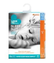 Load image into Gallery viewer, LOVE TO DREAM SLEEP SUIT™ 3.5 TOG Grey