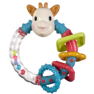 Multi textured Rattle